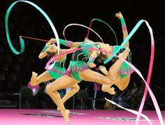   #RhythmicGymnastics Gymnastics Equipment, Sport Gymnastics, Artistic Gymnastics, Rhythmic Gymnastics Clubs, Italy Team, Germany Team, Ea Sports, Ballet, World Of Sports