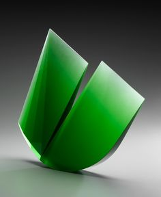 MARTIN ROSOL | Cast Glass Sculpture by Martin Rosol at Schantz Galleries