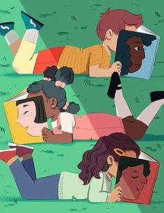 Qué placer ver a tantos niños leer! (autor desconocido)