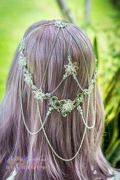Crystal Rose Bridal Circlet by BlingGoddessBoutique on Etsy, $165.00