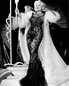 Vintage Image 1930s Mae West Glamour in Evening от PixelHistory