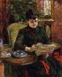Henri De Toulouse-Lautrec Famous Paintings | ... - Henri-de-Toulouse-Lautrec-0125 -  oil painting gallery