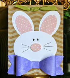 Stampin' Up! Easter by Krystal's Cards and More: Peter Cottontail Treat Bag
