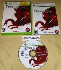 Dragon Age: Origins (Microsoft Xbox 360, 2009) Fantasy Role Playing Fighting War