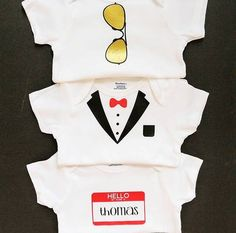 Personalized Baby Slip-On Shirts