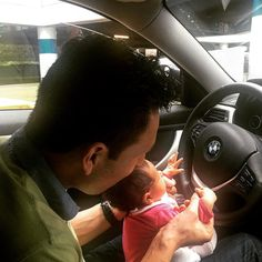 Helena  #Driving the #bimmer  #bmw  #baby  #babylove