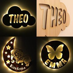 Battery Powered Led Lights, Gravure Laser, Clouds Nursery, Router Projects, Laser Cutter Projects, Wooden Lamp, Laser Cut Wood, Wood Colors, Lamp Light