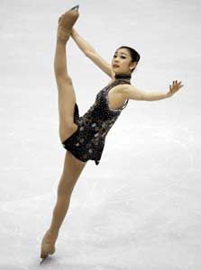 Kim Yuna 2013 Champion (I feel as though she was in fact robbed this year.)