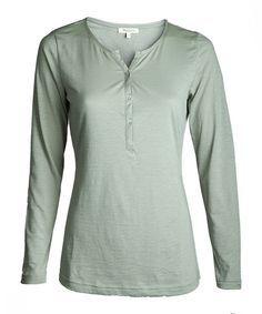 Blouse Shirt wasabi Kollektion Damen Langarm-Shirts (Grüne Mode, eco fashion, ethical fashion, fair fashion)