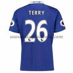 Fodboldtrøjer Premier League Chelsea 2016-17 Terry 26 Hjemmetrøje