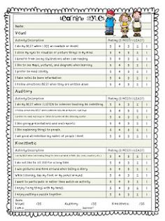 Back to School: Getting to Know Your Students Questionnaires! Freebie :-)