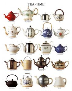 Cute teatime poster from allposters.com