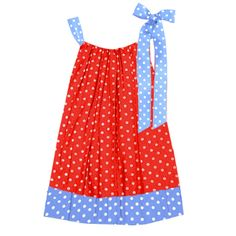 ADORABLE polka dot pillowcase dress- LOVE this!