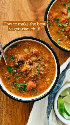 Healthy Soup Vegetarian, Healthy Soup Recipes, Vegetarian Recipes, Cooking Recipes, Vegan Soups, Vegan Meals, Vegan Tomato Soup, Vegan Crockpot Recipes, Vegan Stew