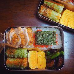 朝楽チンお弁当の詰め方☝︎|LIMIA (リミア) Bento Box Lunch, Lunch Boxes, Asian Recipes, Ethnic Recipes, Snacks, Japanese Food, Fresh Rolls, Meal Prep, Food Porn