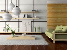 Japanese style interior design | http://www.littlepieceofme.com/home-decor/japanese-style-interior-design/