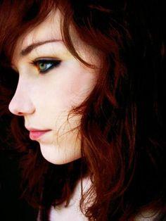 Couleur de cheveux ch tain caramel cheveux pinterest - Quelle couleur porter quand on est rousse ...