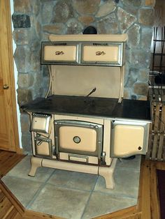 Exceptional Olympia Wood Stove With Oven | Narrowboat | Pinterest | Stove, Oven And  Small Places