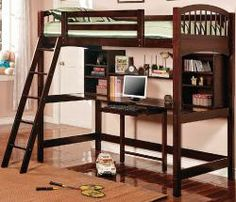 Save space with this kids workstation