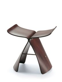 Sgabello Butterfly Stool Vitra
