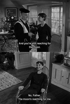 Audrey Hepburn in Sabrina one of my favorite movies