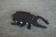 Ravelry: Japanese Fighting Beetle pattern by Sarah Phillips