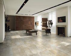 Industry Raw Warm 75x150 cm Porcelanato Todo Masa tipo cemento  De venta exclusiva en PROINTER