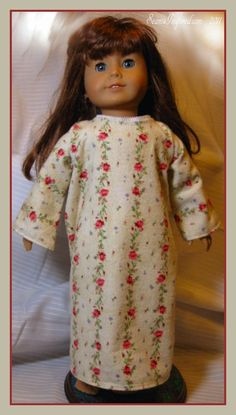"Seams Inspired: Christmas Quickies - 18"" Doll PJ Set & Nightgown Patterns"
