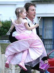 Paul mccartney and little Bea