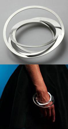 Bracelet | Klara Sipkova. Stretch collection. Stainless steel