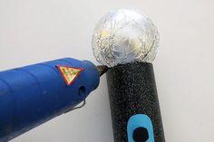 Glue ball on handle