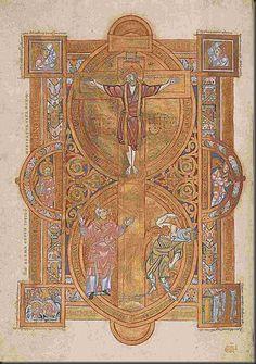 Evangeliario di Uta (Uta Codex)  Monaco di Baviera, Bayerische Staatsbibliothek – Clm. 13601, fol. 4r:  Sant'Erardo celebra la Messa  Così