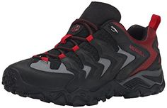 Merrell Men's Chameleon Shift Ventilator Hiking Shoe, Black/Red, 8.5 M US * Find out @ https://www.amazon.com/gp/product/B00KZO6FHS/?tag=homeimprtip08-20&pmn=240716052146