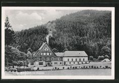 old postcard: AK Komotau / Chomutov, Blick auf die Grundmühle