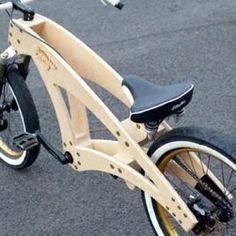 Bike for kids Wooden Bicycle, Wood Bike, Velo Design, Bicycle Design, Electric Bike Kits, Push Bikes, Chopper Bike, Balance Bike, Woodworking Workshop