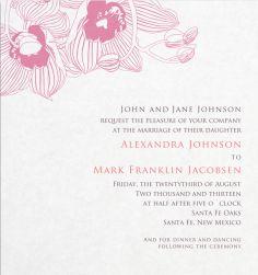 Hang on Magnolia online - Wedding cards