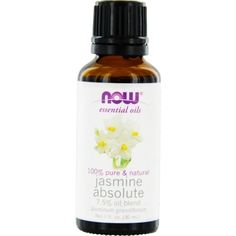 ESSENTIAL OILS NOW by NOW Essential Oils JASMINE ABSOLUTE BLEND OIL 1 OZ