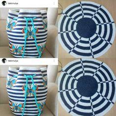 """324 Beğenme, 9 Yorum - Instagram'da @wayuu_plenty: """"Günaydın  WORKSHOP MEYVELERİ  @tekinnulya ' dan çok başarılı bir çalışma daha ➡Bursa Workshop '…"""" Crochet Clutch, Crochet Handbags, Crochet Purses, Knit Or Crochet, Filet Crochet, Crochet Necklace, Mochila Crochet, Tapestry Crochet Patterns, Tapestry Bag"""