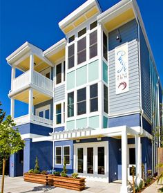Pacific Blue bed & breakfast Eco friendly inn in Santa Cruz