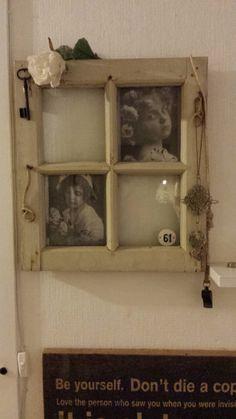 Gammelt vindue