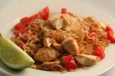 Thai Style Chicken & Noodles  in CHICKEN, MIRACLE NOODLES, PHASE 2 RECIPES  Warning! This is not a POP Phase 2 recipe! I am one of the peo...