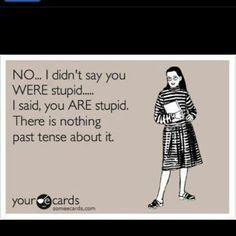 Grammar...it's a beautiful thing.