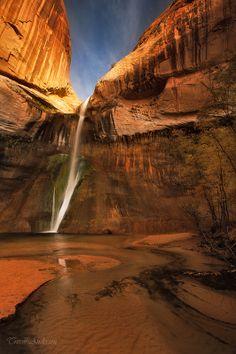 ☀Calf Creek Falls Vertical by Trevor Anderson*