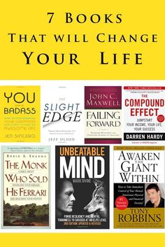 7 Books that will change your life Amy Silverman Fitness is part of Motivational books - Book Club Books, Good Books, Books To Read, My Books, Best Books For Men, Best Self Help Books, Book Nerd, Motivational Books, Inspirational Books