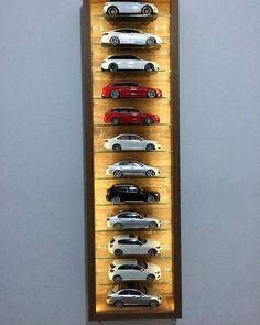 Discover ideas about display shelves Hot Wheels Storage, Toy Car Storage, Hot Wheels Display, Toy Display, Display Case, Display Shelves, Display Ideas, Palette Deco, Automotive Decor
