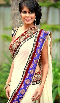 SARA Design Studio by Rashi: Saree - Outfit #sari #desi #fashion #wedding