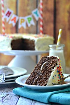 Gluten Free Happy Birthday Cake