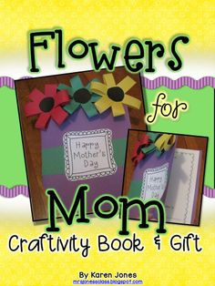 Mother's Day Craftivity & Book that she will cherish! $