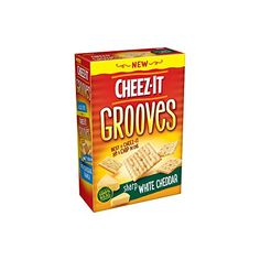 Cheez-It Grooves, Sharp White Cheddar... $7.66