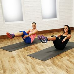 A short and intense Barry's Bootcamp workout that blasts calories!
